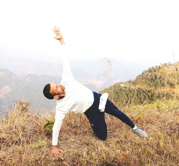 Hatha yoga- Vashisthasana